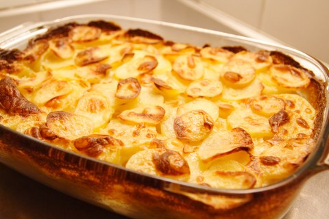 Scalloped Potatoes ~ always perfect ~ Mary ~