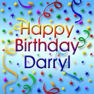 Happy Birthday Daryl Cake